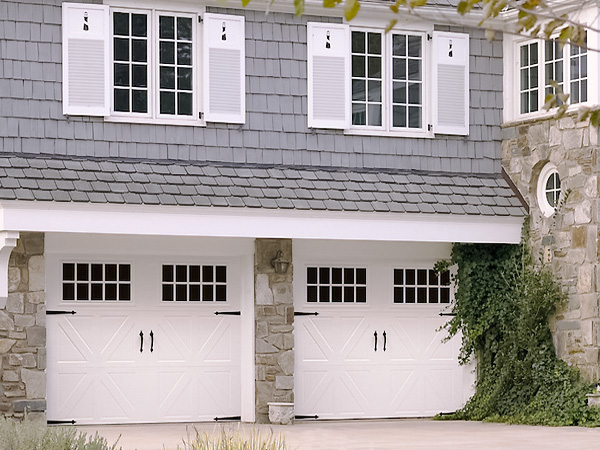 2 Single Garage Doors